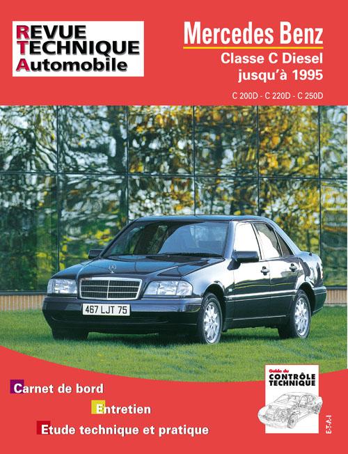 Mercedes Benz C200D, C220D, C250D 1994-95 (RTA578)