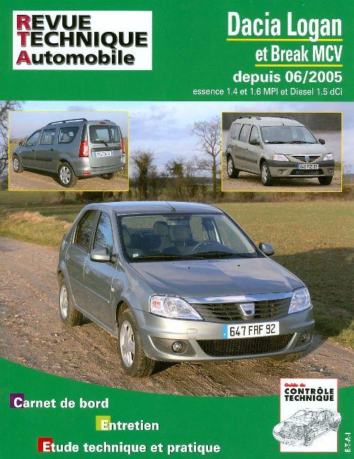 Dacia Logan/MCV -2007 1.4, 1.6 , 1.5DCi (RTA B727)