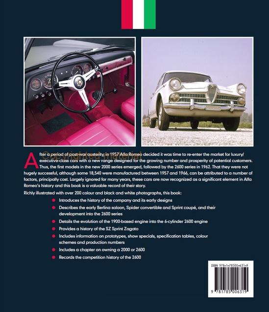 Alfa Romeo 2000 & 2600 - Complete Story