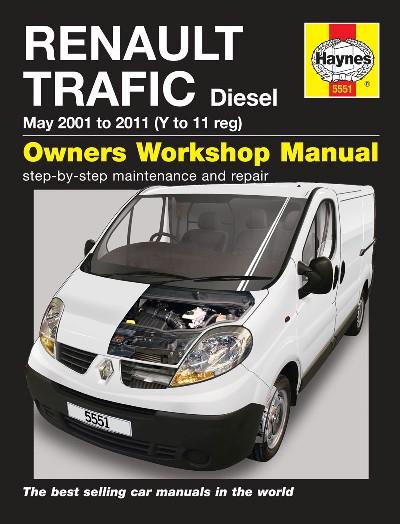 Renault Trafic Diesel 2001-11