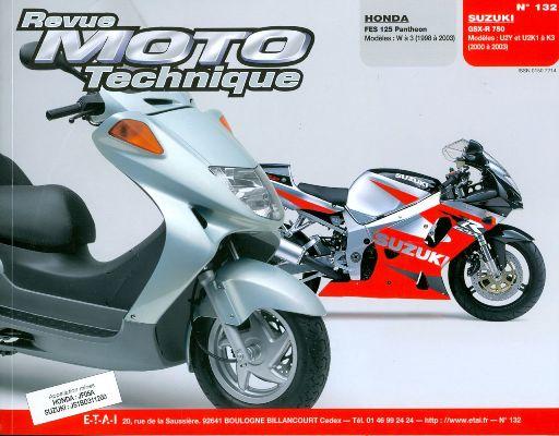 F132 Honda FES 125 Pantheon/Suzuki GSX-R 750 98-03