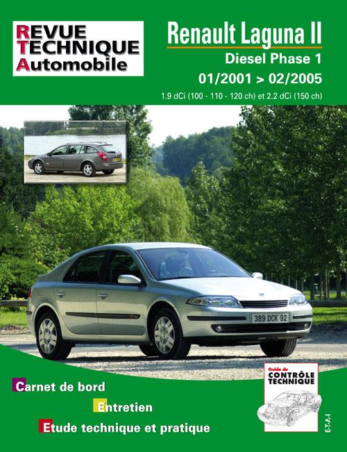 Renault Laguna II Diesel depuis 1/2001 (RTA653)
