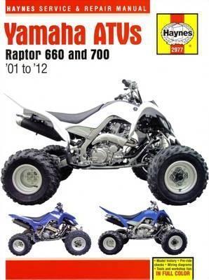 Yamaha Raptor 660 & 700 ATVs 01-12