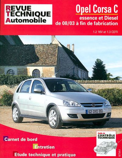 Opel Corsa 1.2 TWINPORT /1.3 CDTI 08/2003 (RTA692)