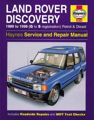 Land Rover Discovery Gas/D 1989-98