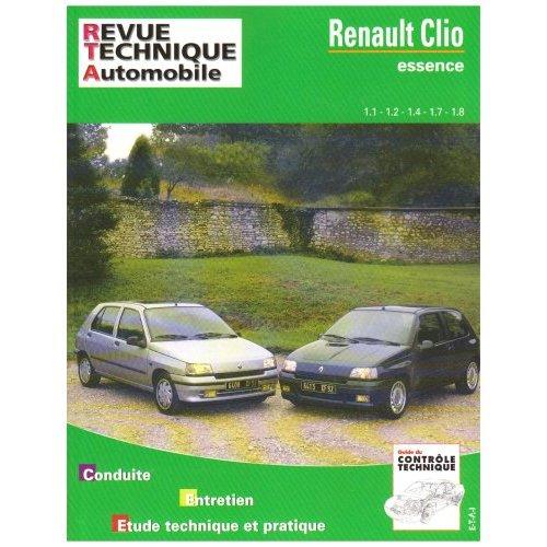 Renault Clio 1.1,1.2,1.4,1.7,1.8 (RTA742)