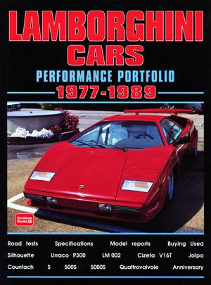 Lamborghini Performance Portfolio 1977-89