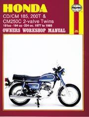 Honda CD/CM185, 200T,CM250C Twins 1977-85