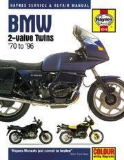 Bmw 2-Valve Twins 1970-96