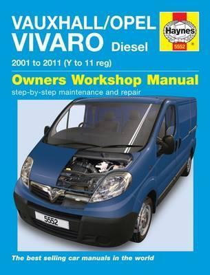 Opel/Vauxhall Vivaro Diesel 2001-11