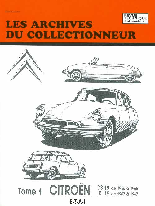 Citroën DS 19 (1956-65) et ID 19 (1957-66) (AC30)
