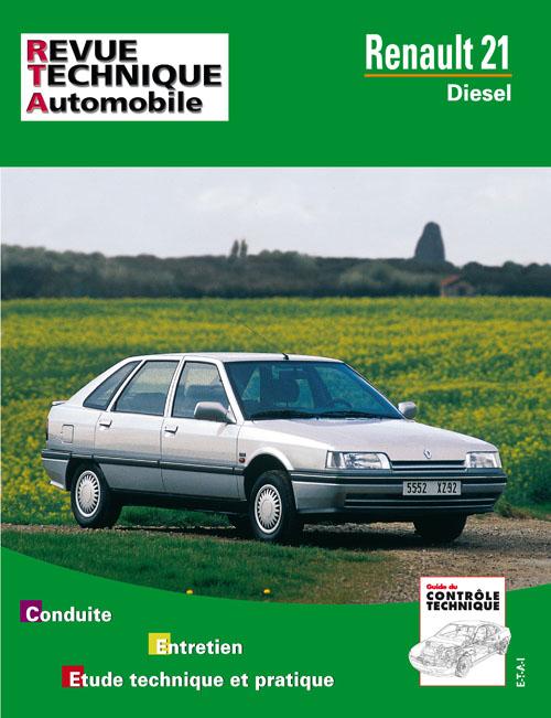 Renault 21 Diesel & TD (RTA487)