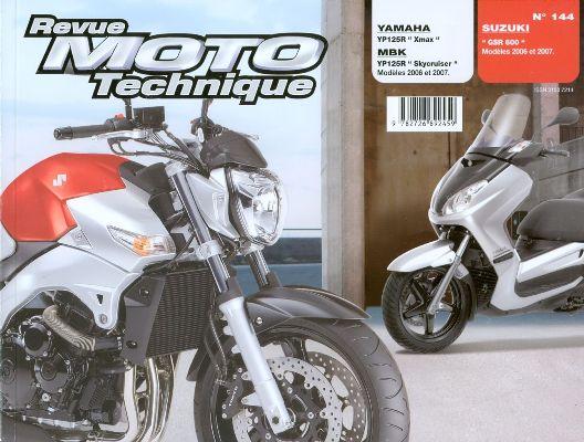 F144 Yamaha V Max, Suzuki GSR600 2006-07