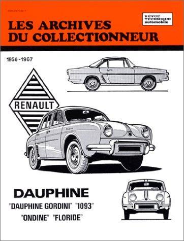 Renault Dauphine Ondine Floride Gordini 56-67 AC22
