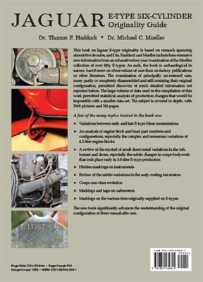 Jaguar Tipo E - Six Cilinder  - Originality Guide