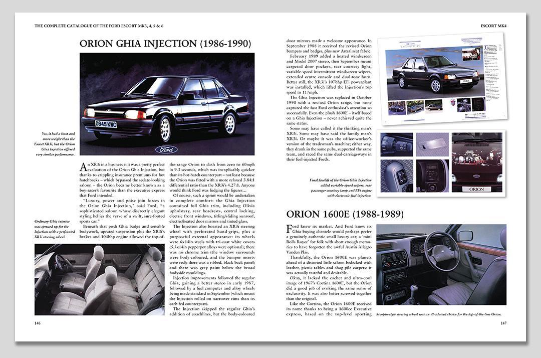 Complete Catalogue Ford Escort MK3, MK4, MK5 & M6