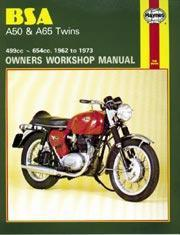 Bsa A50 & A65 Twins 1962-73