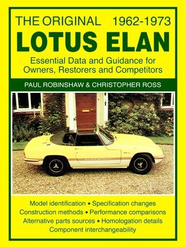 Lotus Elan - Essential Data & Guidance 1962-1973