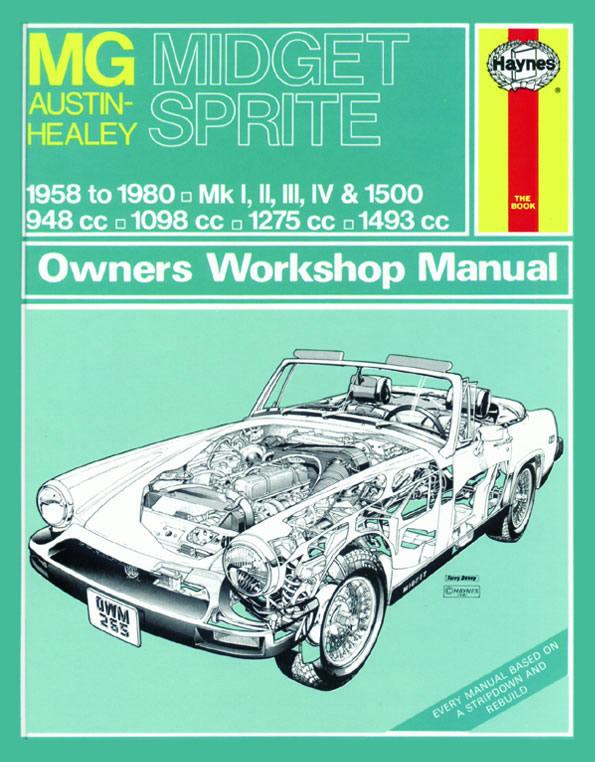 MG Midget & AH Sprite 1958-80