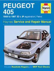 Peugeot 405 Petrol 1988-97
