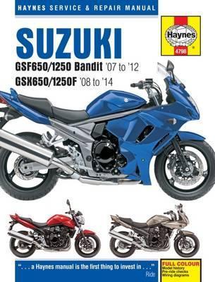 Suzuki GSF650/1250 Bandit & GSX650/1250F 2007-14