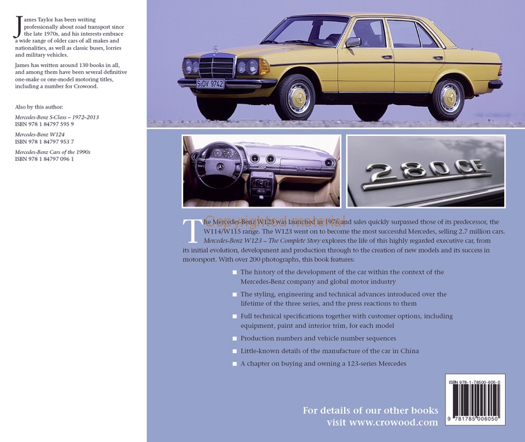 Mercedes Benz W123 - Complete History