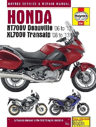 Honda NT700V Deauville & XL700V Transalp (06 - 13)