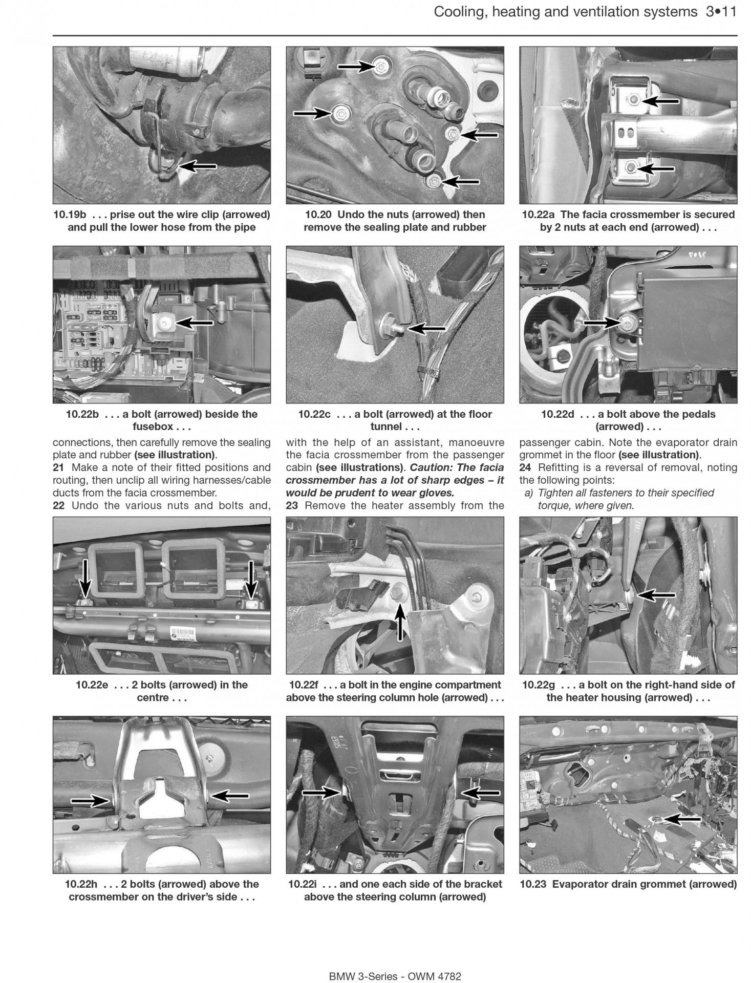Bmw 3 Series Petrol & Diesel 2005-2008