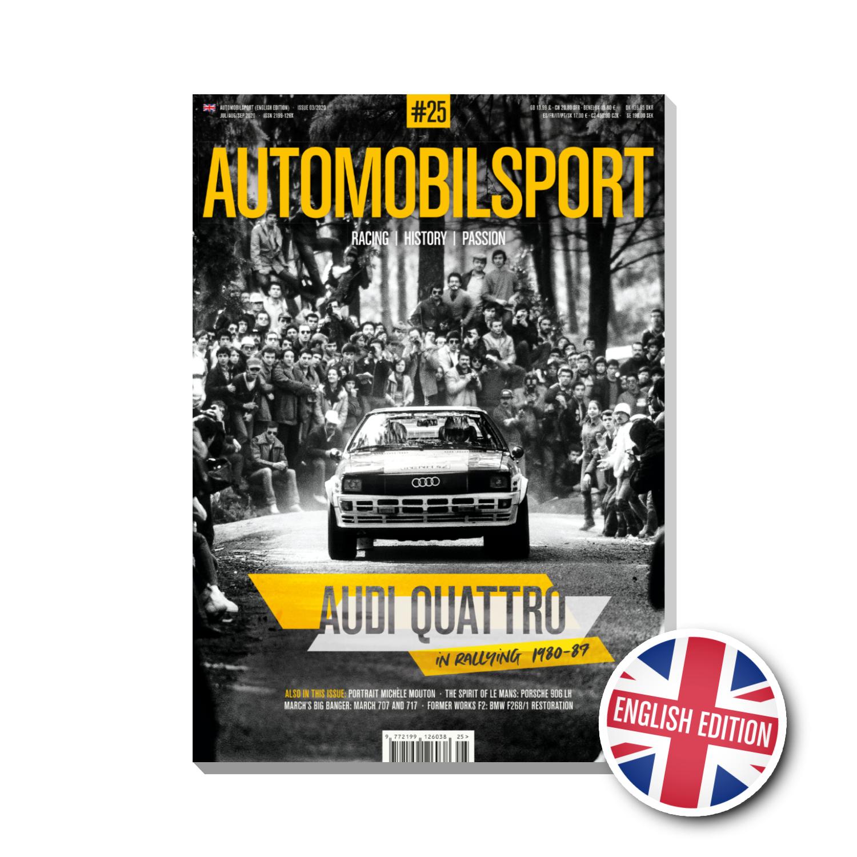 Audi Quattro in rallying 1980-1989 (Vol 25 Automobilsport)