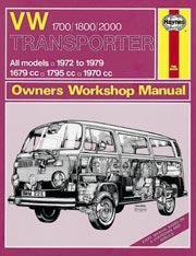 Volkswagen Transporter1700, 1800 & 2000 1972-79