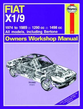 Fiat X1/9 1974-89