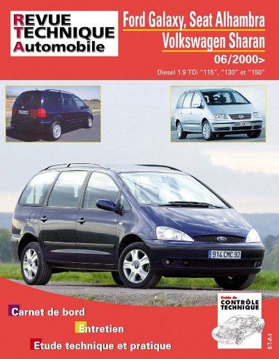 Ford Galaxy II, Seat Alhambra II 2000- (RTAB732)