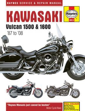 Kawasaki Vulcan 1500 & 1600 1987-08