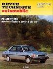 Peugeot 305GR/SR 1986-89, GT/X, 1983-89 RTA441