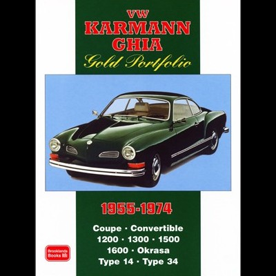 Volkswagen Karmann Ghia Gold Portfolio 1955-74
