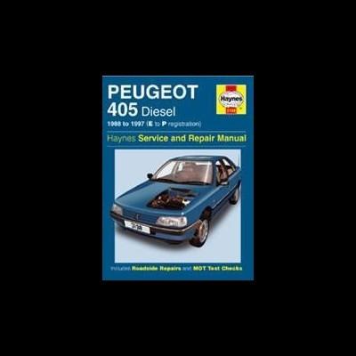 Peugeot 405 Diesel 1988-97