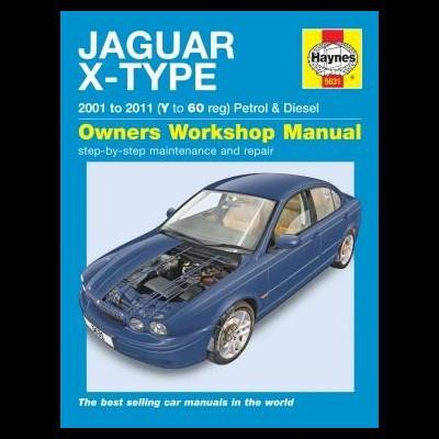 Jaguar X-type Petrol/Diesel 2001-11