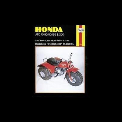 Honda ATC 70, 90, 110, 185 & 200 1971-85