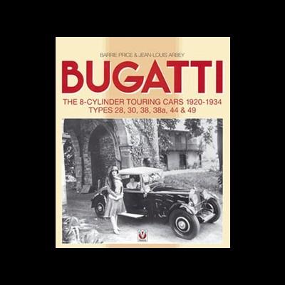 Bugatti T44 -T49:  8-Cylinder Touring Cars:1920-34