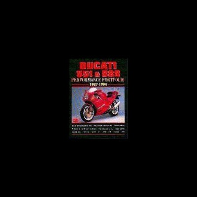 Ducati 851 & 888 Performance Portfolio 1987-94