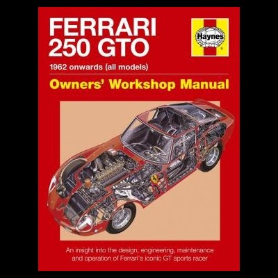 Ferrari 250 GTO Workshop Manual