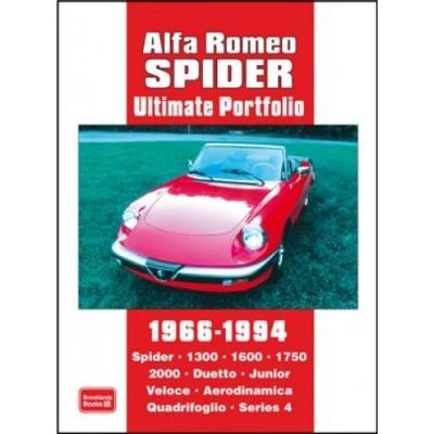 Alfa Romeo Spider Ultimate Portfolio 1966-1994