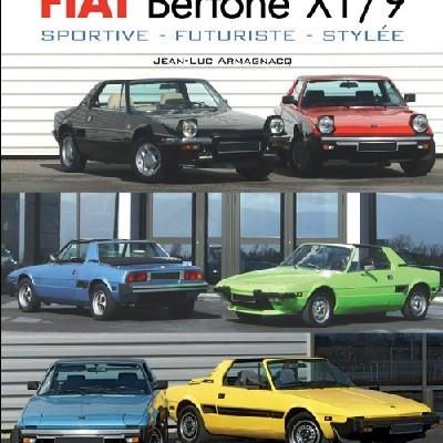 Fiat Bertone X1/9 Sportive, futuriste, stylée