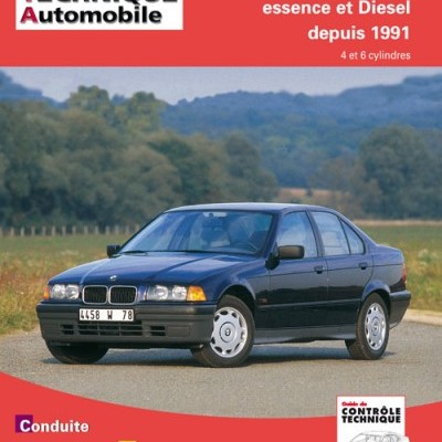 Bmw Serie 3 Essence 1991-93 & TD 1991-96 (RTA725)