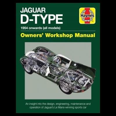 Jaguar D-Type Onwards (All Models) Owners WM