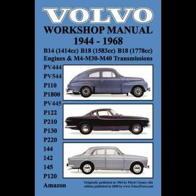 Volvo 1944-1968 Workshop Manual