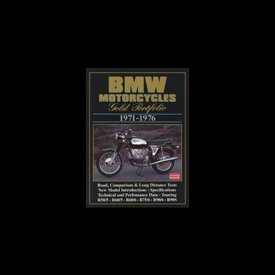 Bmw Motorcycles Gold Portfolio 1971-76