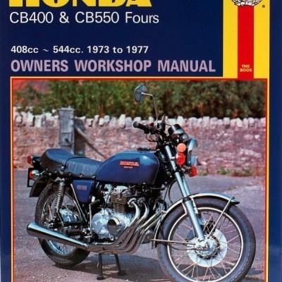 Honda CB 400 & CB550 Fours 1973-77