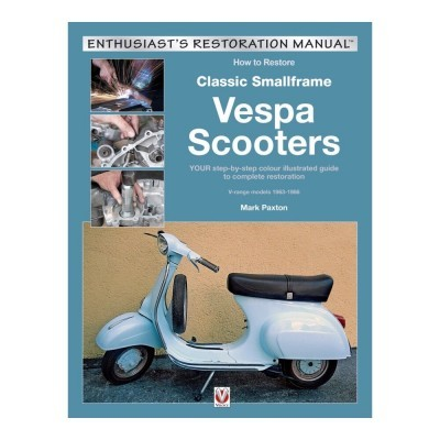 How to Restore Classic Small Frame Vespa Scooters