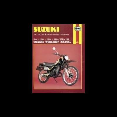 Suzuki 100, 125,185,250 Air Cooled Trails 1979-89
